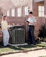 Trane, Air Conditioner, Cooling, AC, A/C