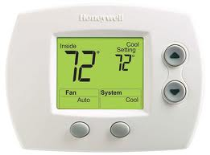honeywell th5110d1022 non programmable thermostat bay area services rh bayareaservice com trane comfortlink xl900 manual trane digital thermostat xl900 manual