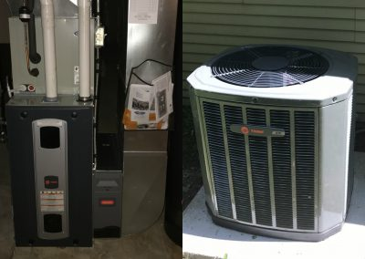 After: Furnace and A/C