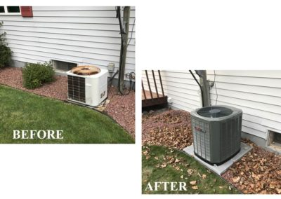Before & After A/C Replacement